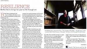 Article in June, 2013 issue of CityLife magazine, p. 22.